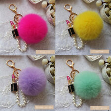 Car Cute Genuine Phone Handbag New Pendant Ball Cell Soft Fur Key Chain