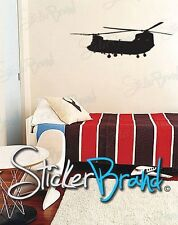 Vinyl Wall Decal Sticker Chinook Helicopter