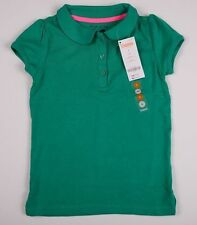 NWT Gymboree Girls Uniform Green Polo Shirt Size 4