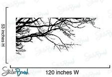 """Vinyl Wall Decal Sticker Tree Top Branches 120"""" X 53"""""""