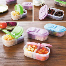 Plastic Kitchen Container Fresh Fruit Food Snack Storage Sauce Box Food Case WB