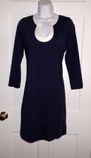 NWT LILLY PULITZER TRUE NAVY MARLINA DRESS L XL