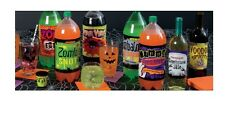 Halloween Bottle Labels Wine Pop Soda - Halloween Party Supplies Decorations