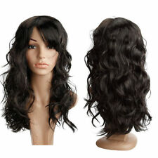 New Women's lady Fashion Sexy Long Wavy Curly Brown Blonde Hair Wig Full Wig g54