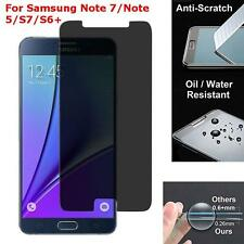 Privacy Anti-Spy 9H Tempered Glass Screen Protector For Samsung Note 7/S7/S6Edge