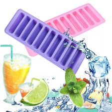 Cube Ice Tray Cylinder Cookie Chocolate Ice Jelly Bottle Stick Silicone Mold