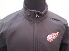 Brand New Reebok Youth Detroit Red Wings Full Zip Softshell Jacket Youth S-XL