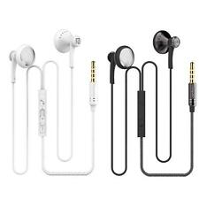Portable Universal 3.5mm Jack Headset Stereo Earphone With Mic For Samsung Phone