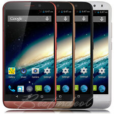 """New 5"""" Unlocked Smartphone Android Kitkat DuaL Core DuaL SIM Cell Phone 3G Net10"""