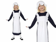Victorian Poor Girl Costume Book Week Kids Maid Fancy Dress Outfit