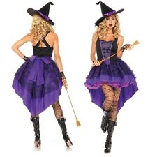 Sexy Witch Cosplay Costume Women Ladies Adult Fancy Dress Halloween Costume  New