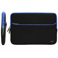 "15.6"" Notebook Laptop Neoprene Sleeve Case Padded Pouch Bag w/ Accessory Pocket"