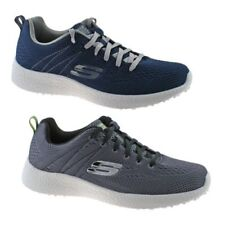 MENS SKECHERS BURST SECOND WIND TRAINERS NAVY & CHARCOAL 52108 SIZE 6.5 - 11