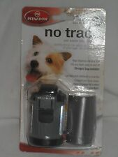 Petnation NO-TRACE Pet waste bags with dispenser 30 bags fits any leash