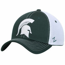 Michigan State Spartans Zephyr Rally Flex Hat - Green/White - NCAA
