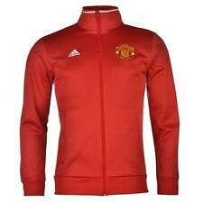 *ADIDAS - MANCHESTER UNITED CORE JACKET RED = SIZE ALL ADULTS