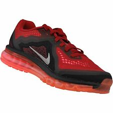 Nike Air Max 2014 Mens Size Running Shoes Red Silver 621077 601