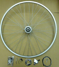 Genuine NEW 3 speed STURMEY ARCHER Rear WHEEL 26 x 1 3/8 Alloy Rim Vintage Retro
