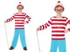 Wheres Wally Boys Costume Kids Licensed Book Week Fancy Dress Outfit