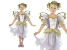 Fairy Princess Costume Girls Fairytale Outfit With Wings Kids Fancy Dress