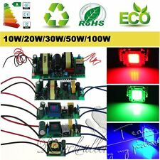 High Power AC 10W 20W 30W 50W 100W LED Driver Supply LED Chip Light Lamp Bulb