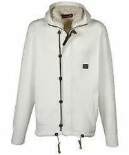 Mens Duck And Cover Hunt Hooded Jacket, Off White, Various Sizes