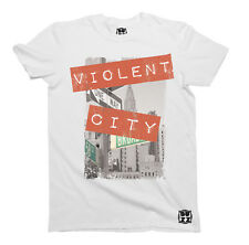 Violent City T-Shirt Unisex Mens Ladies Trendy HIPSTER