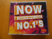 Various Artists - Now That's What I Call No. 1's (2006) 3 x Cd's