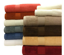 Luxury Ultra Soft and Super Absorbent Solid 6 PC Towel Set 100% Plush Cotton