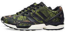 new-adidas-originals-zx-flux-deep-forest-mens-casual-shoes-sneakers-green