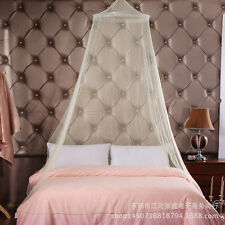 Stylish Bed Mosquito Netting Lace Bedding Net Mesh Canopy Princess Round Dome
