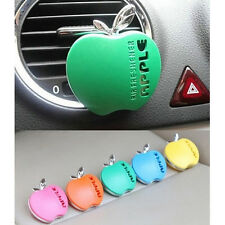 New Apple Shape Car Air Conditioning Vent Perfume Air Freshener Fragrance Useful