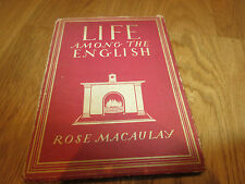 Book Britain in Pictures Life Among the English by Rose Macaulay no 31 1942