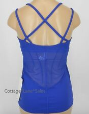 NEW LULULEMON Exquisite Tank Top Sz 4 6 10 Sapphire Blue NWT FREE SHIP
