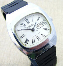 RAKETA 2628.H DATE DATE ROMAN USSR CCCP Soviet Russian Mens Mechanical Watch