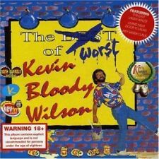 KEVIN BLOODY WILSON Worst Of Kevin Bloody Wilson CD 12 Track (bbcd09) UK Both Ba