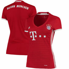 Bayern Munich adidas Women's Home Jersey - Red/White - International Clubs