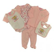 Take Me Home Newborn Girls Bear Heart 5pc Layette Set Size 3/6M 6/9M $22