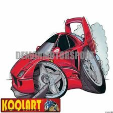 Koolart Cartoon Ferrari F40 Red - Mens Gifts (334)