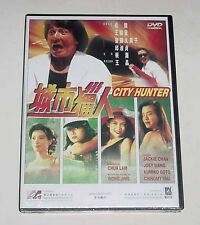 "Jackie Chan ""City Hunter"" Joey Wong Cho-Yin RARE All Region HK Mega Star DVD"