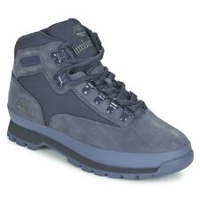 MENS TIMBERLAND EURO HIKER BOOT BLUE SUEDE SIZES 7 TO 10 UK