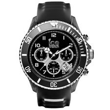 Ice-Watch ICE SPORTY Chrono Black & White Big Big Uhr schwarz SR.CH.BKW.BB.S.15