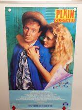 PLAIN CLOTHES Arliss Howard SUZY AMIS George Wendt HOME VIDEO POSTER 1987
