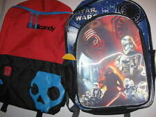 New BACKPACK choose SKULLCANDY or STAR WARS Force Awakens polyester skull