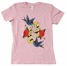 Paul Stanley Live To Win Pink Girls Juniors T Shirt NEW KISS