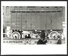 RINGLING BROS BARNUM & BAILEY CIRCUS CARRIAGE ON TRAIN PHOTO (163)