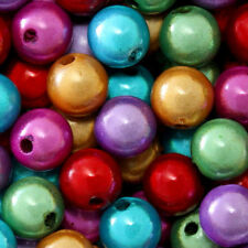 WHOLESALE MIRACLE BEADS 4MM 6MM 8MM ROUND CRAFT SPACER BEAD 45 COLORS CHOICE