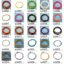 "x100m77 10pcs Wholesale 18"" Stainless Steel Chain Cord Necklace Cable Charms"