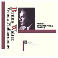 Bruno Walter : Mahler Symphony No.9 Bruno Walter Audio CD