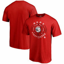 Cincinnati Reds Firefighter T-Shirt - Red - MLB